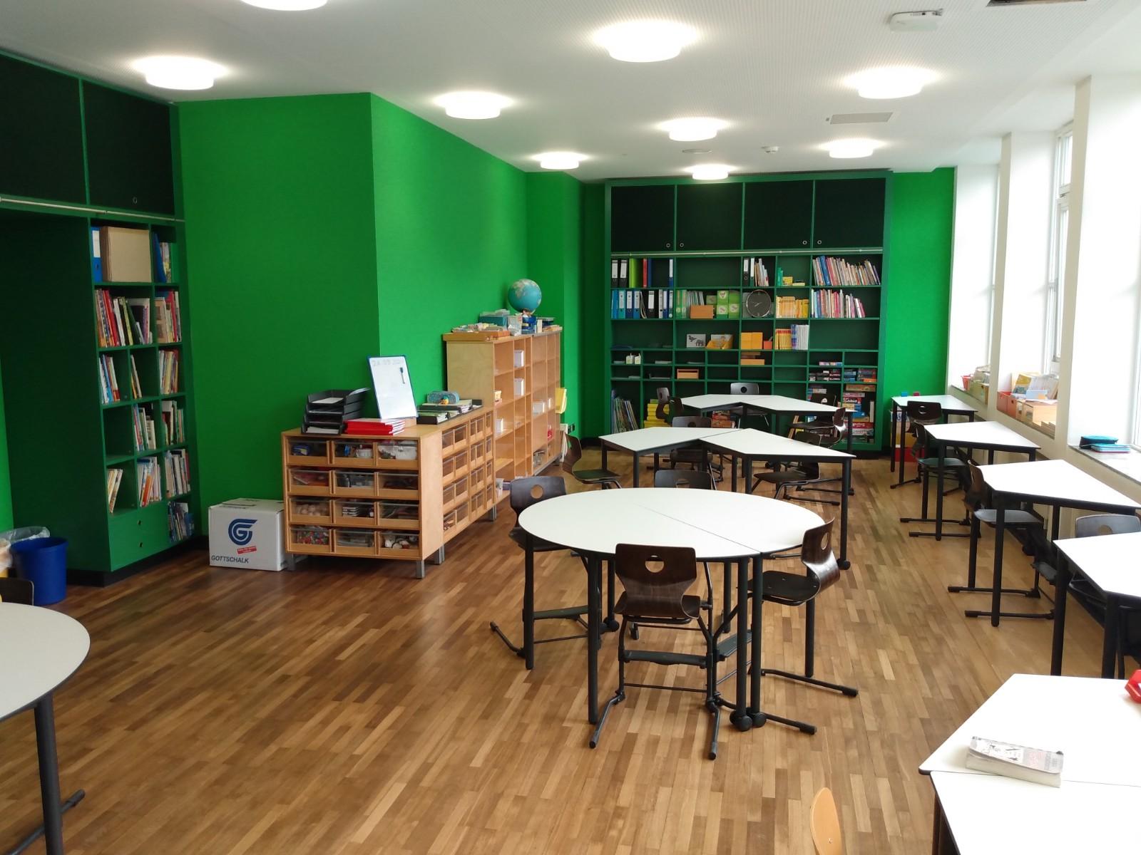 Klassenraum grünes Cluster (2.OG)